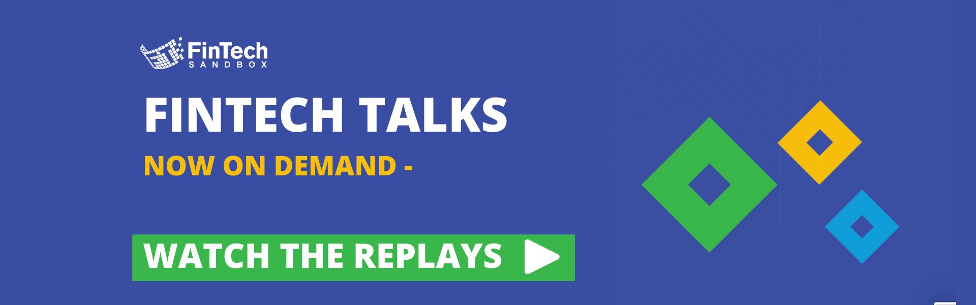 Fintech Talks - Watch the replays