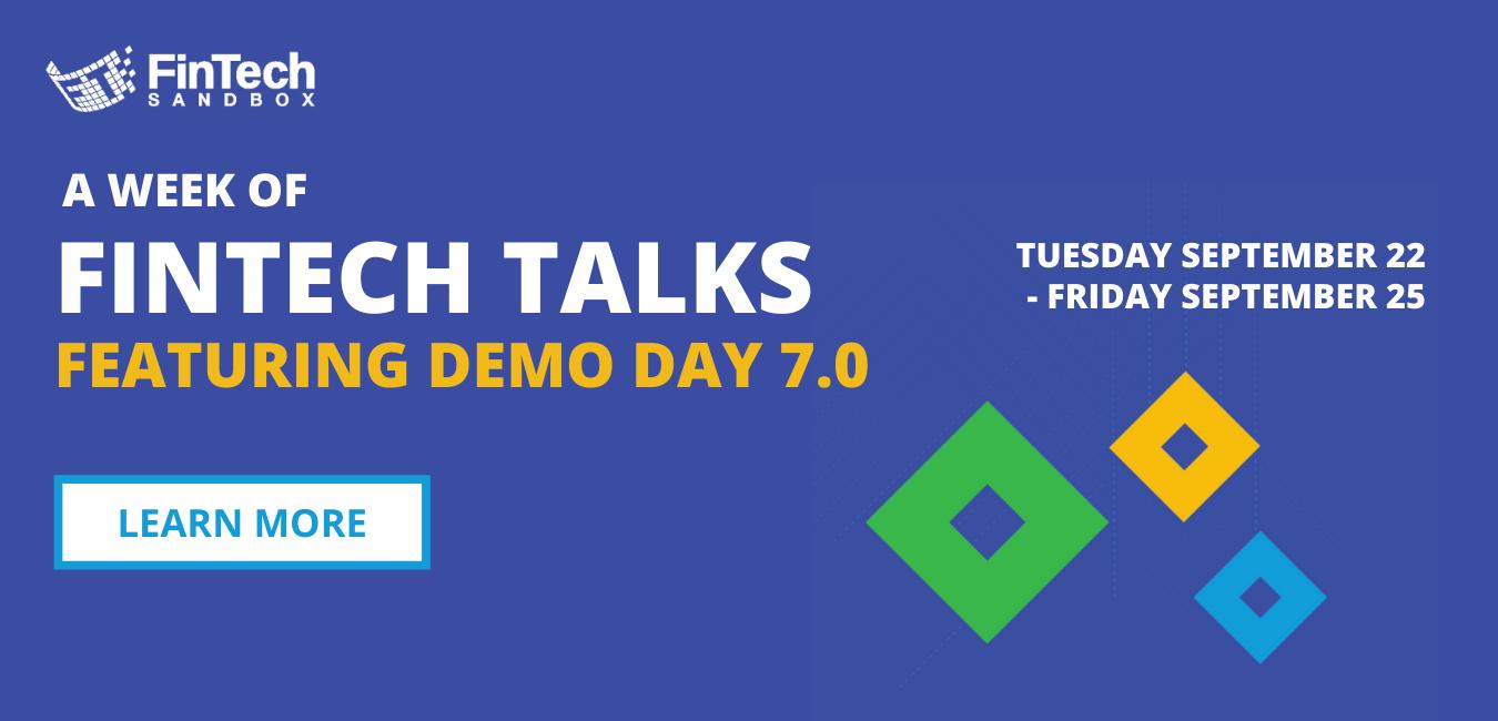 Fintech Talks September 22-25